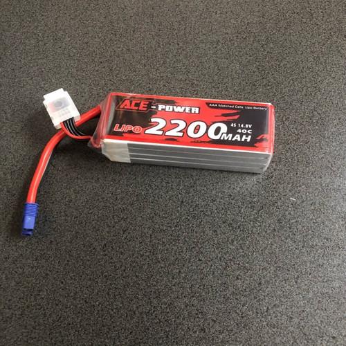 14.8v 2200mah SC 40c 4s with EC3 Connector ACE2200404SEC3