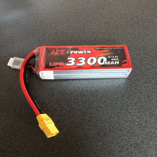 14.8v 3300MAH SC 40C 4s 40c Battery
