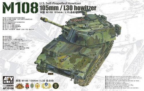 105mm/L30 Howitzer M108 US Self-Propelled Howitzer