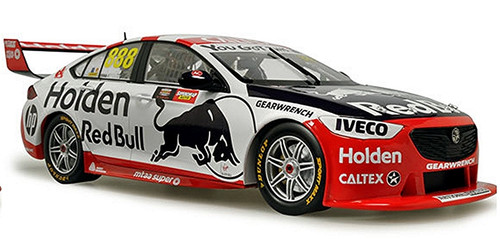 2019 Holden 50th Anniversary Retro Bathurst Livery Whincup & Lowndes 1/43 888-27