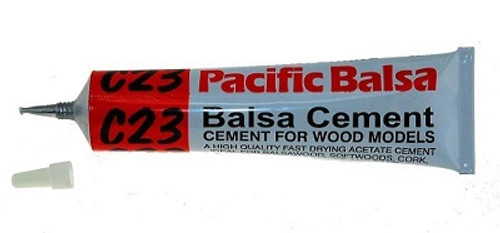 C23 Balsa cement in 50ml tube