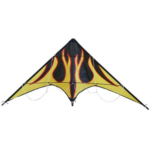 Kite Stunt Flame 1.45m HT Twin Line HW-HDF-02
