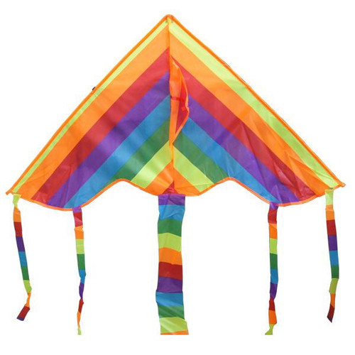 Kite Rainbow Tail 1.3m Single Line HW-HDA-20