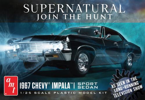 Supernatural 1967 Chevy Impala 1/25 AMT1124