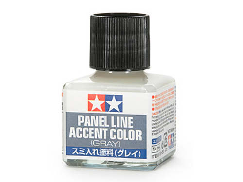 Panel Line Accent Colour Grey Enamel Paint 40ml T87133