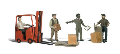 Ho Workers W/Forklift WS-A1911