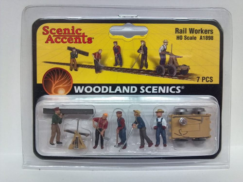 Rail Workers, HO Scale A1898