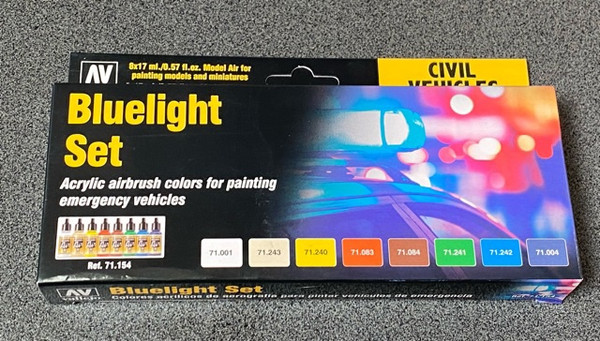 Model Air Bluelight Set Colour Acrylic AV71154