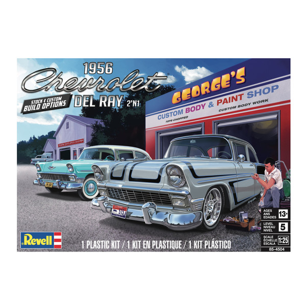 1956 Chevy Del Ray 2N1 1/25 4504
