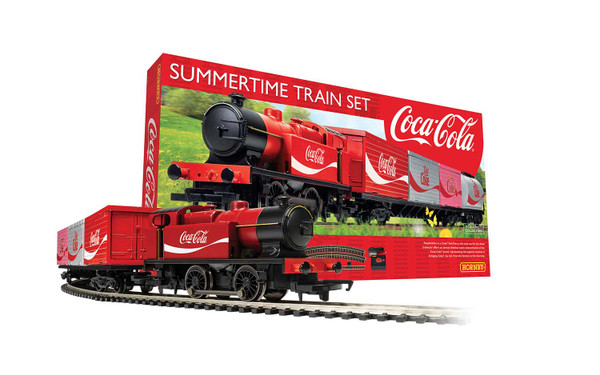 Summertime Coca-Cola Train Set R1276