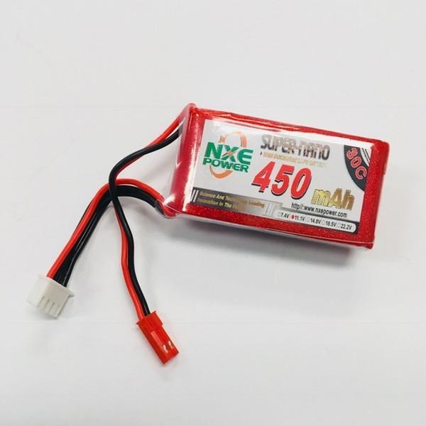 11.1V 450mAh 3S 30C Soft Case LiPo Battery w/JST 450SC303SJST