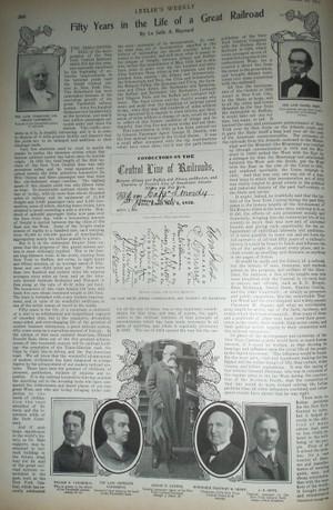 1903 New York Central Railroad 50th Anniversary