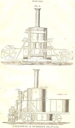 1867 RCA Drawing of Calloway & Purkis Plow
