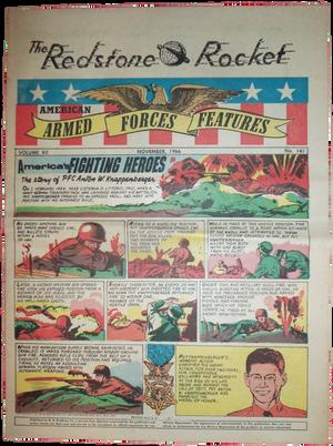 "Nov. 1966 Issue of ""Redstone Rocket,"" Huntsville, Alabama"