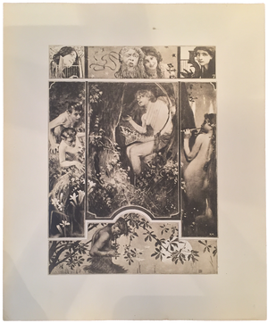 Rare Koloman Moser Prints, Plate 7