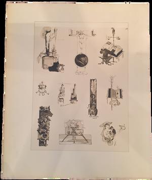 Rare Léo Schnug Prints, Plate 17