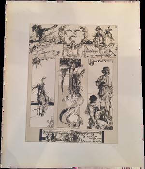 Rare Léo Schnug Prints, Plate 18