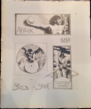 Rare Carl Ederer Prints, Plate 21