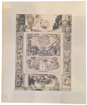 Rare Julius Diez Print