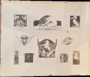 Rare Albert Weisgerber Prints, Plate 40
