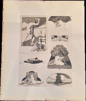 Rare Albert Weisgerber Prints, Plate 37
