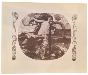 Rare Carl Otto Czeschka Print, Plate 29