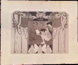 """Rare Print of """"Sommer"""" by Koloman Moser"""
