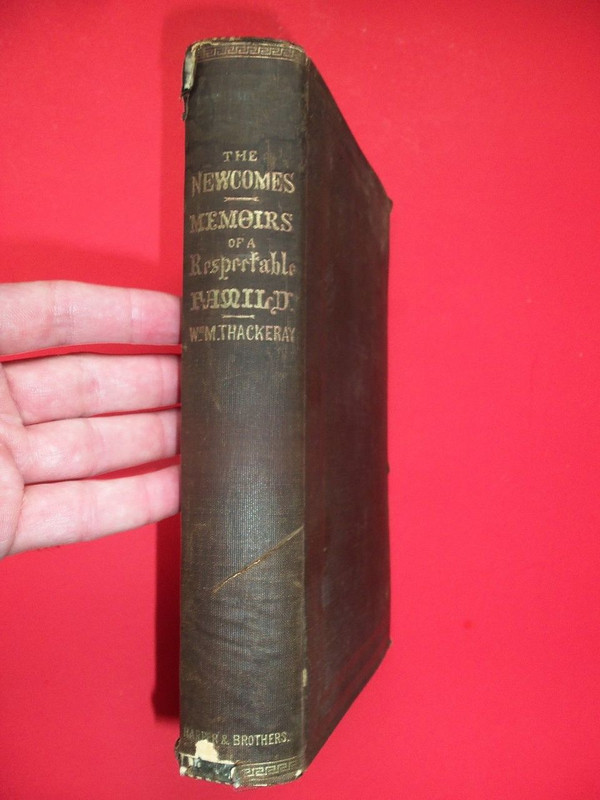 1857 Book Containing Autograph of VP Candidate J. Whitelaw Reid