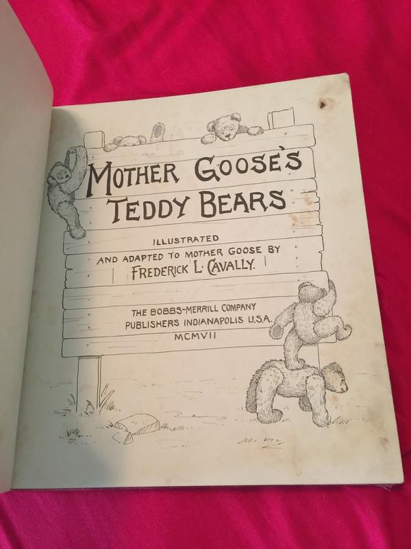 Mother Goose's Teddy Bears, Cavally Jr., 1907