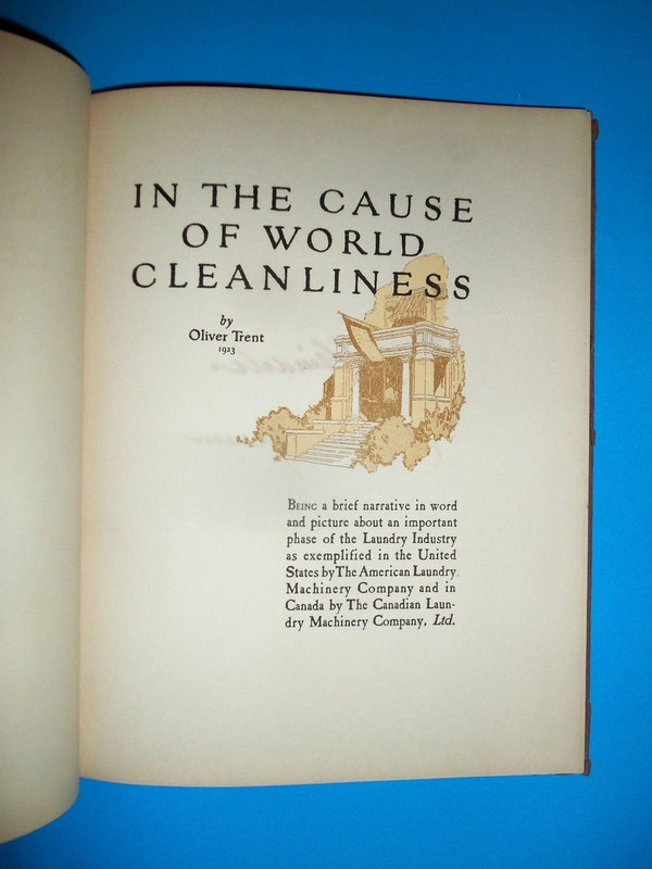 In the Cause of World Cleanliness, 1923