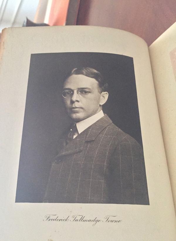 Frederick Tallmadge Towne: A Memorial, 1872-1906