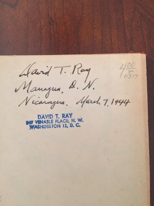 Cancionero YNOW, Colección Extraña de Canciones Nicaragüenses (WWII)