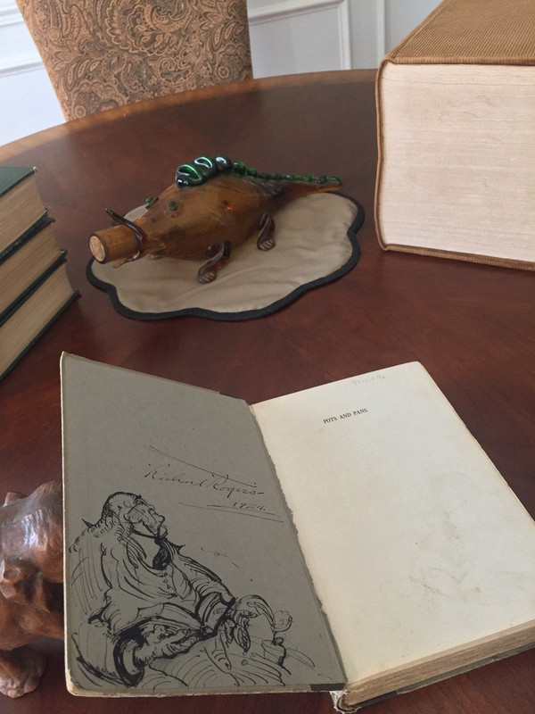 """First Edition, Bye's """"Studies in Still-Life Painting,"""" Mystery Drawing"""