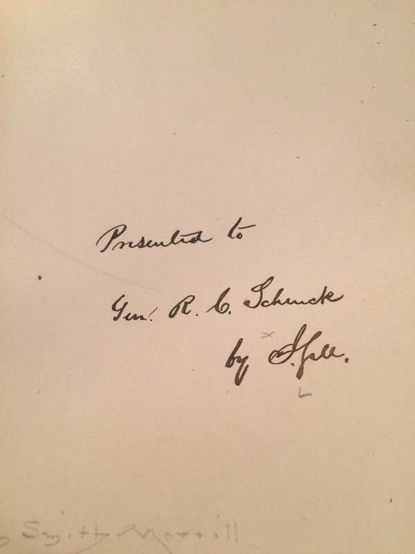 """First Edition """"Self-Consciousness"""" Addressed to Civil War General, 1882"""