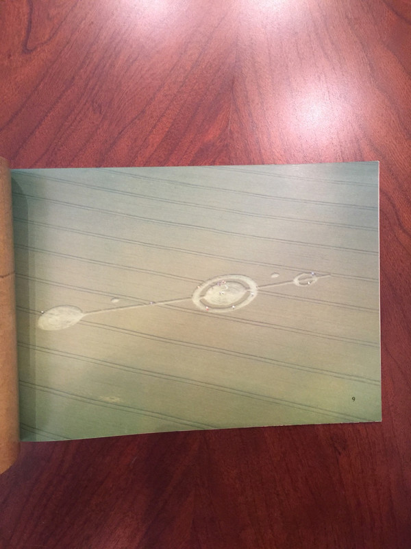 """Signed Copy of """"Crop Circles of 1991"""" by Busty Taylor"""