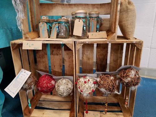 Alpaca Bird Nesting Balls, Hand made in Arkansas with Alpaca fiber