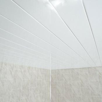 10mm White Gloss Ceiling