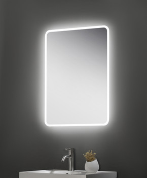 Vancouver Slimline LED Touch Mirror