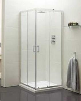Boston Corner Entry Shower Door