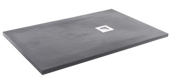 Pizarra Rectangle Slate Tray Anthracite
