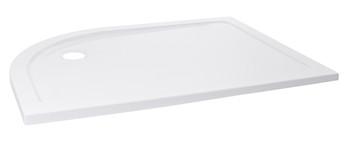 Pizarra Quadrant Right Handed Shower Tray