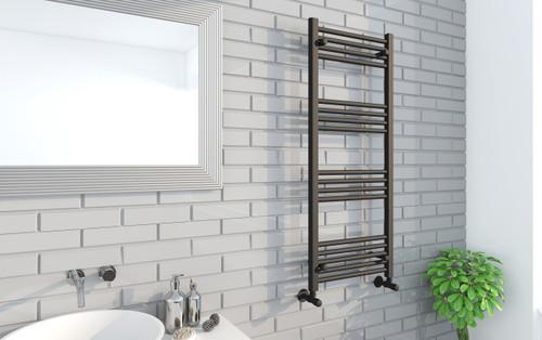 Seattle Straight Black Towel Warmer (1200)