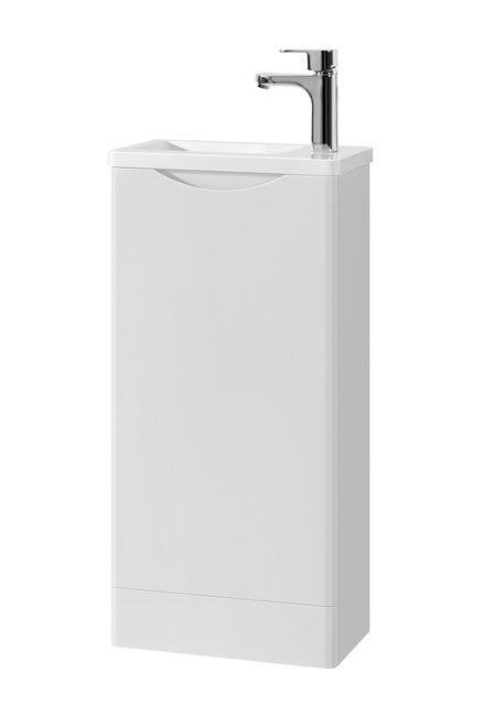 Vienna Cloakroom Floor Mounted 400 in White
