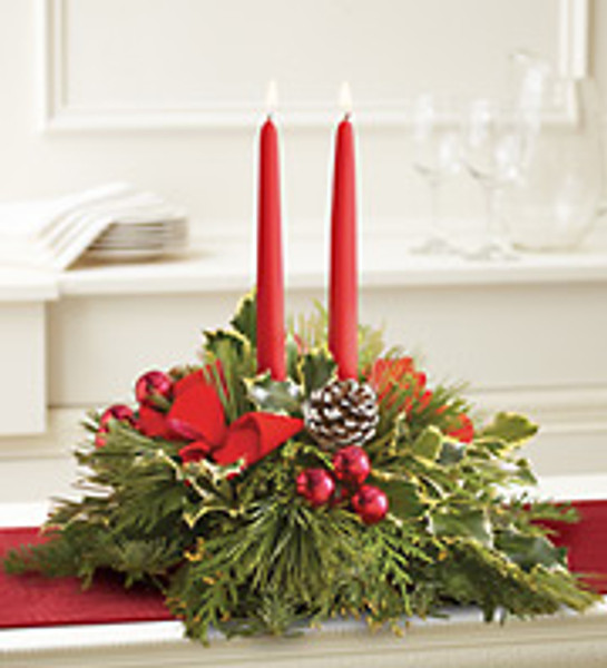 Classic Holiday Centerpiece