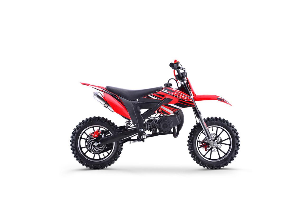 Pads Part 50cc New Mini Moto Dirt Bike Front// Rear Black Brake Disc Caliper
