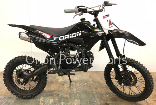 Orion XS-125cc MANUAL pit bike - Free Shipping, Fully Assembled/Tested