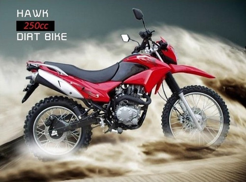 RPS Hawk 250cc Motorcycle - Free Shipping, Fully Assembled/Tested