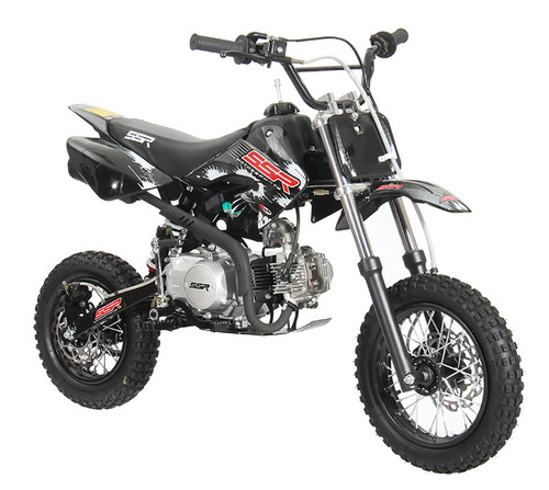 2021 SSR 110cc Semi Auto Shift Pit Bike - Free Shipping, Fully Assembled/Tested