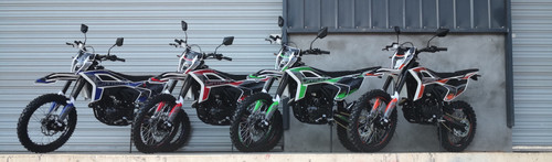 PRE ORDER - Orion RXB-250cc MANUAL Dirt Bike - Free Shipping, Fully Assembled/Tested