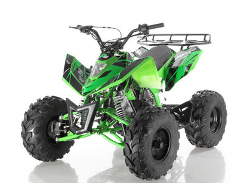 Apollo Sniper 125cc  AUTOMATIC ATV - Free Shipping & Fully Assembled/Tested